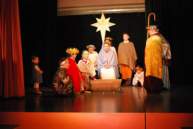 Christmas Pageant - arrival of the Magi