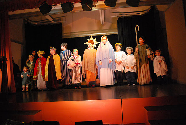 Christmas Pageant 2012, all participants