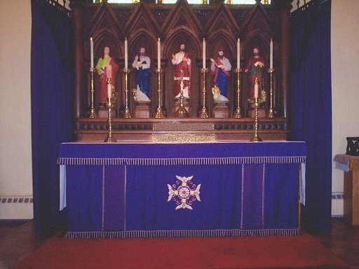 St. Peter's Cathedral Altar in the Trinity Season